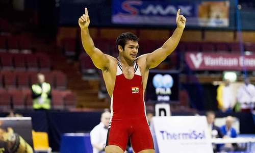 Olympics-bound Indian wrestler fails doping test