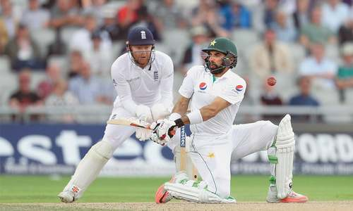 Rain gives Pakistan respite as England bat again