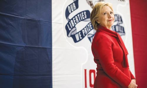 Hillary Clinton: burning ambition and resilience to match