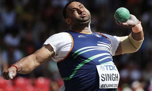 Indian shotputter fails drugs test before Games