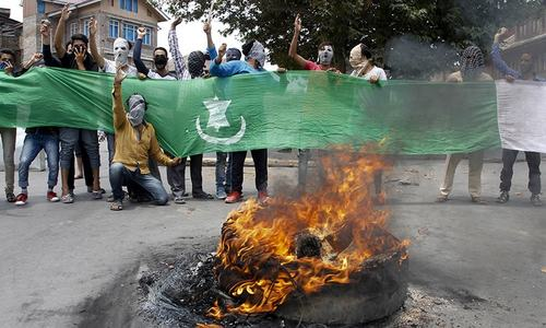 Curfew lifted in Srinagar but clashes spread