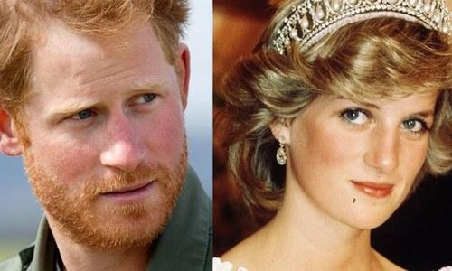 لیڈی ڈیانا کی موت پر بات نہ کرنے پر شہزادہ ہیری کو 'افسوس'