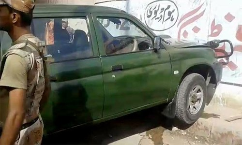 Two military men killed in Karachi after gun attack on vehicle