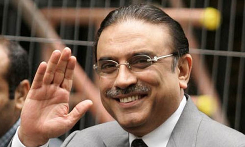 Nuclear weapons are no joke, you can't use them: Zardari