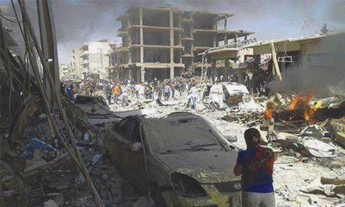 Massive IS bomb attack kills 44 in Syria's Kurdish city
