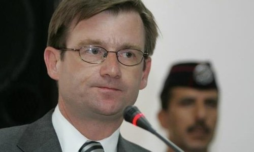 US 'vigorously' supports succession of democracy in Pakistan: David Hale