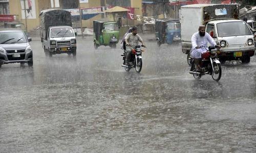صوبہ پنجاب اور خیبرپختونخوا میں بارشیں