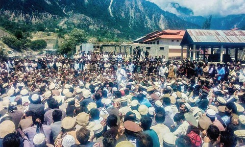 Shutter down in Kalam against 'harassment' of people