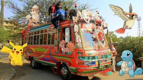 What went down when 20 Karachiites caught Pokemon on a guided bus tour