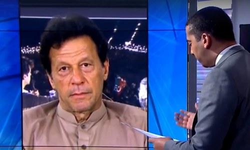 طالبان کو دہشت گرد سمجھتا ہوں: عمران خان