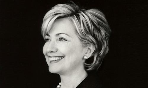ہیلری کلنٹن کی چند نایاب تصاویر