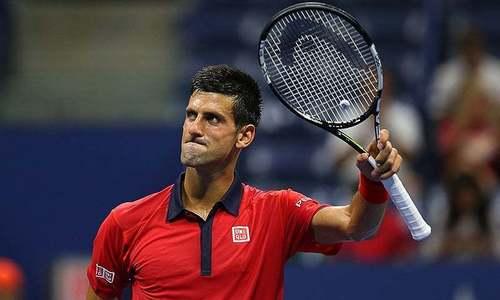 Djokovic advances over showman Stepanek