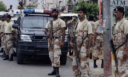 Bomb attack targets Rangers vehicle in Larkana, one killed