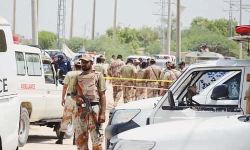 Rangers man killed, 15 injured in twin Larkana blasts