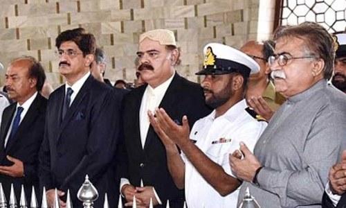 وزیر داخلہ و خزانہ کے بغیر سندھ کی 17رکنی کابینہ کا اعلان