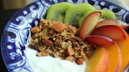 This homemade granola recipe is an easy breakfast and snack solution