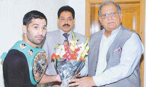 Waseem assured of financial backing from govt