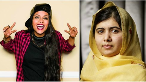 Malala Yousafzai meets YouTube sensation Superwoman