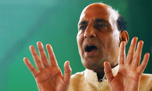 'Pakistan never learns': Rajnath apprises Indian parliament of Saarc meet