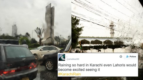 20 tweets about rain in Karachi that are totally on point