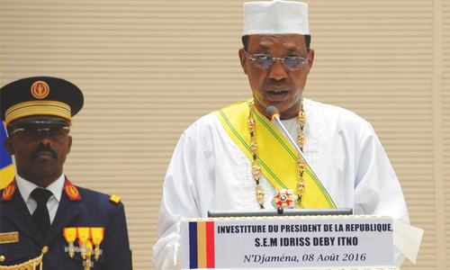 Tensions in Chad as Deby sworn in for fifth term