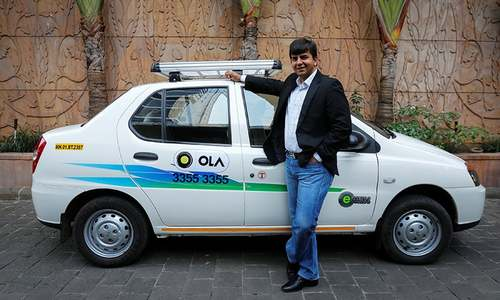 India ride-hailing firm Ola sideswiped as Uber, Didi team up in China