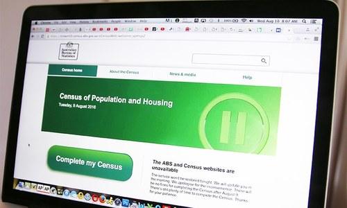 Australian online census shut down by cyber attacks