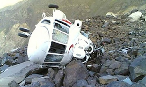 Tribal elders involved in recovery of helicopter crew: Foreign Office