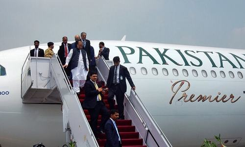 PM Nawaz inaugurates PIA Premier on Pakistan's 70th Independence Day