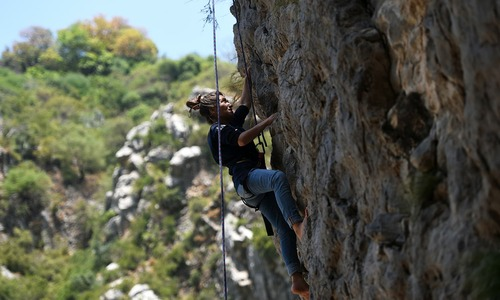 Pakistani rock climbers scale new heights