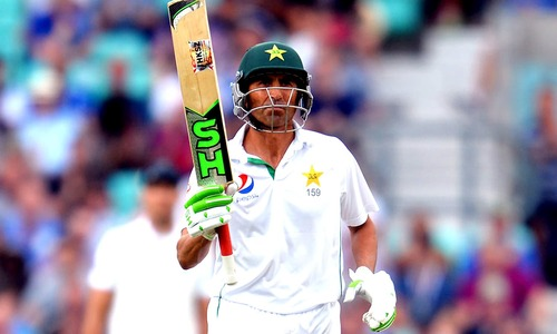 A matter of stats: Younis Khan stands among the world's batting elite