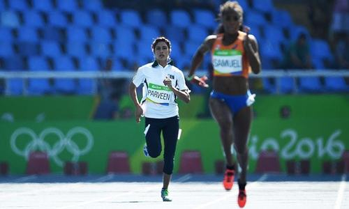 Pakistan's Olympics journey ends as Najma finishes last in 200m race