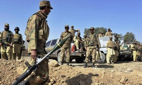 Army conducts operation along Pak-Afghan border in Khyber Agency