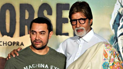 Amitabh Bachchan and Aamir Khan to finally star in a film together?