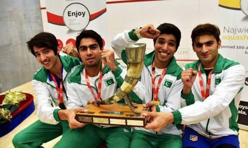 Pakistan win 2016 World Team Junior Squash Championships in Poland
