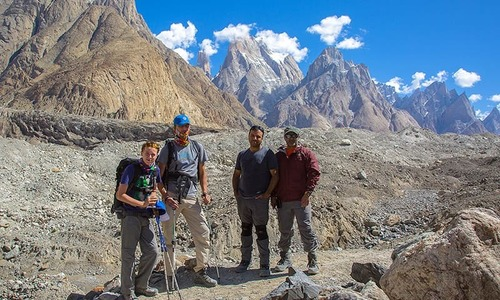 K2 via Concordia: Trekking through the valley of giants