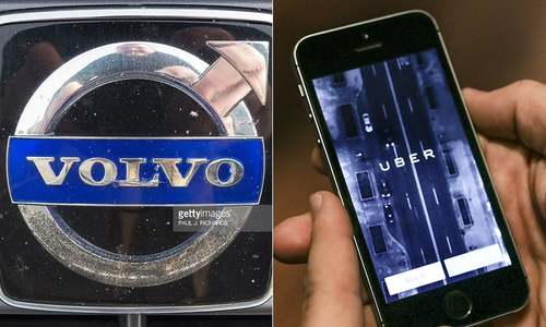 Volvo and Uber form driverless car venture