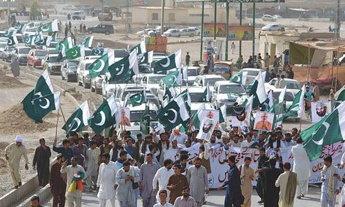 Anti-Modi rallies termed referendum against estranged Baloch leaders