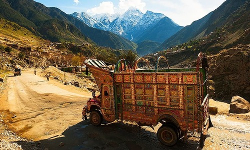 The elusive history and politics of Pakistan's truck art