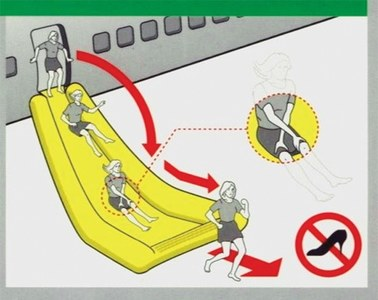 What to do in an emergency landing