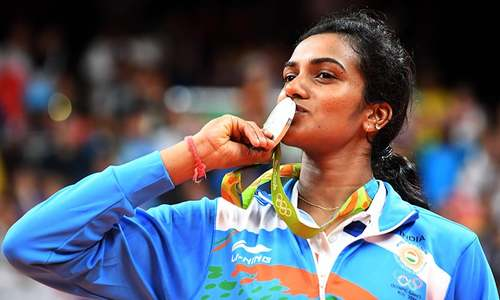 India cheers first woman to win silver medal