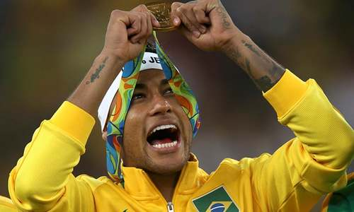 Vindicated Neymar delivers Brazil's most treasured gold