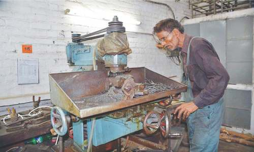 Pakistan's  shadow surgical instruments' sector