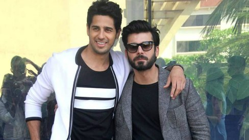 Not in a good looks competition with Fawad Khan, says Sidharth Malhotra