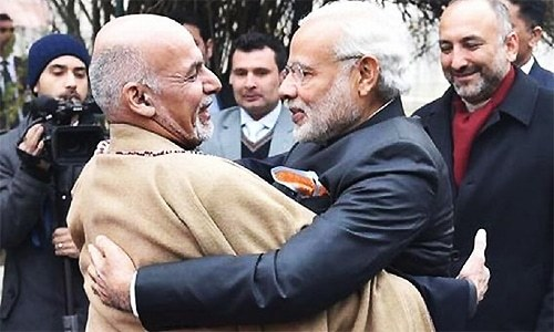 Indian PM Modi, Afghan President Ghani jointly inaugurate Kabul's Stor Palace