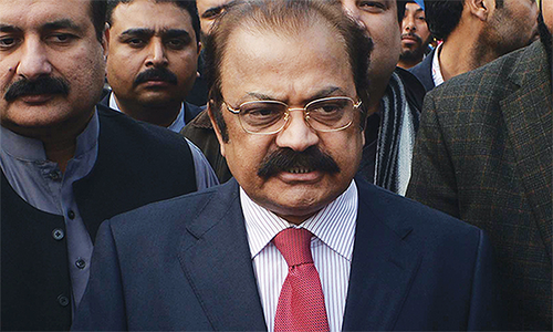 No need for Rangers in Punjab: Sana