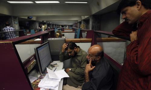 Stocks lose 58 points amid political turmoil