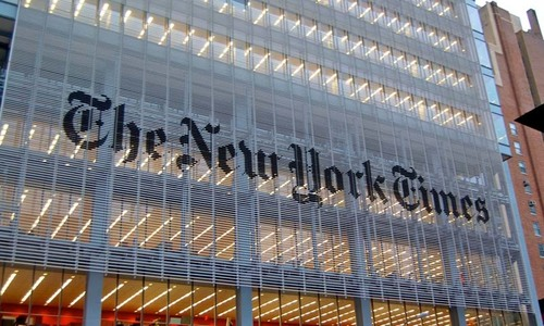 New York Times says suspected Russian hackers targeted its Moscow bureau