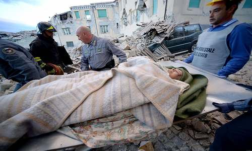 At least 38 dead as 6.2 magnitude quake shakes central Italy: authorities