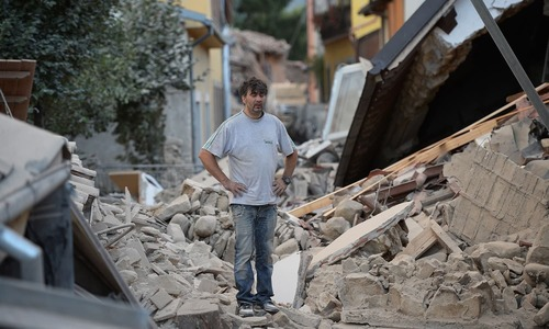 اٹلی میں شدید زلزلے نے تباہی مچادی